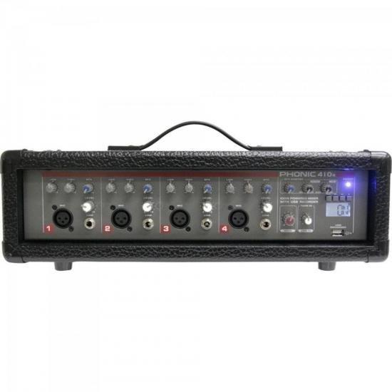 Mesa de Som 4 Canais Amplificado PWRPOD 410R PHONIC (63603)