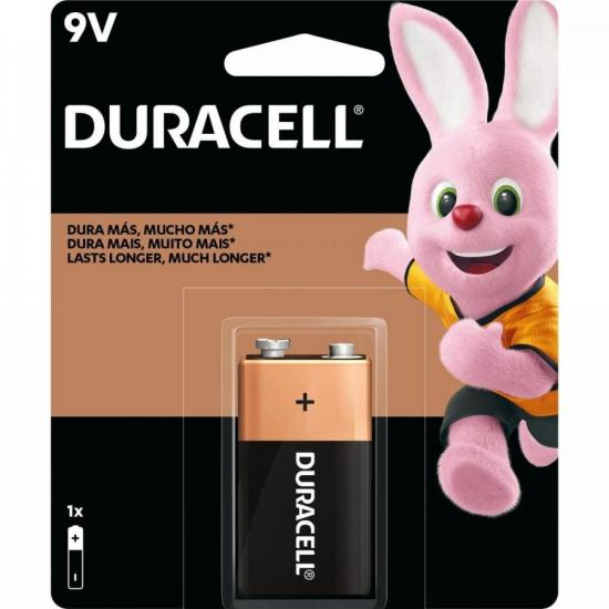 Bateria 9V MN1604 DURACELL (6416)
