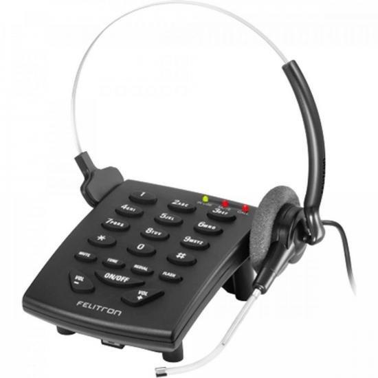Telefone Headset S8010 Black VG FELITRON (64653)
