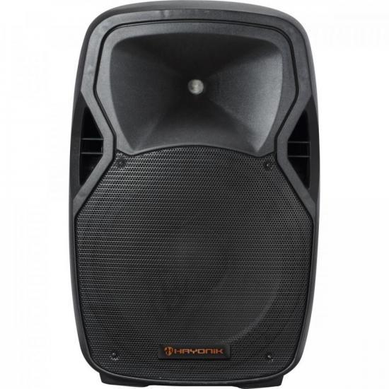 Caixa Acústica Ativa 600W Bluetooth CPA 15600 Preta HAYONIK (64854)
