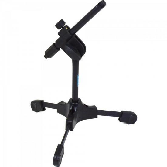 Suporte Para Microfone de Mesa Semi Articulado SPM LIGHT Preto ASK (65040)