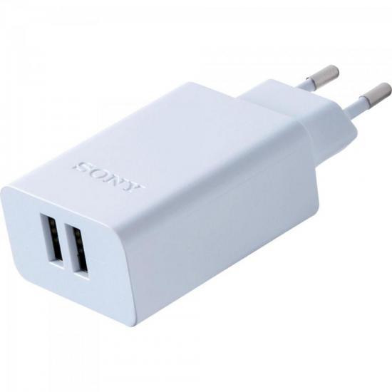 Carregador de Tomada CP-AD2M2 com 2 saídas USB 3.0A SONY (65120)