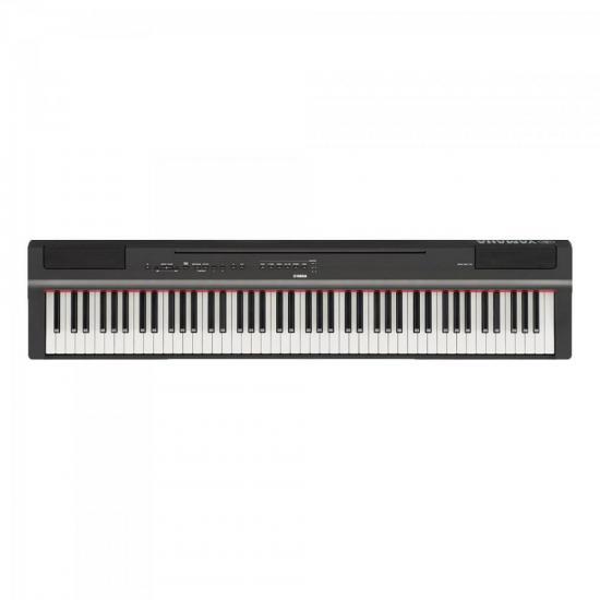 Piano Digital Compacto c/ Fonte P125B Preto YAMAHA (65581)