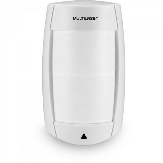 Sensor IR Infra Passivo Pet 40 kg Duplo Fio SE 411 BRANCO MULTILASER (65964)
