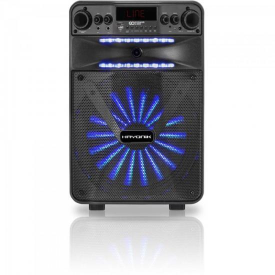 Caixa Multiuso Portátil Bluetooth/MicroSD/USB/FM 100W GO!POWER 200 (66492)