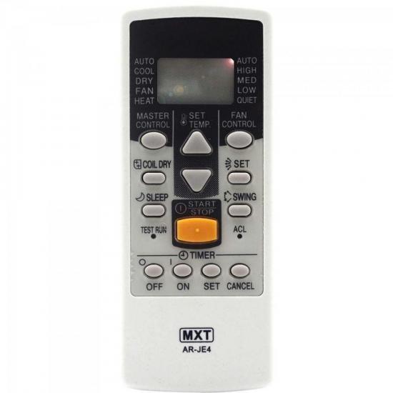 Controle Remoto para Ar Condicionado Split FUJITSU AR-JE4 MXT (67521)