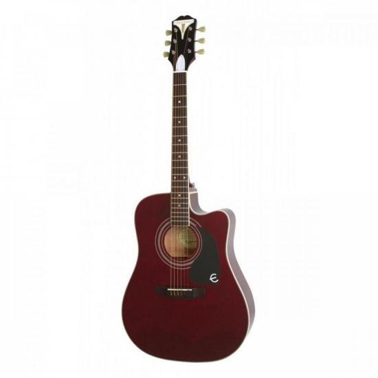 Violão Eletroacústico Aço Folk Pro - 1 Ultra Wine Red EPIPHONE (67922)