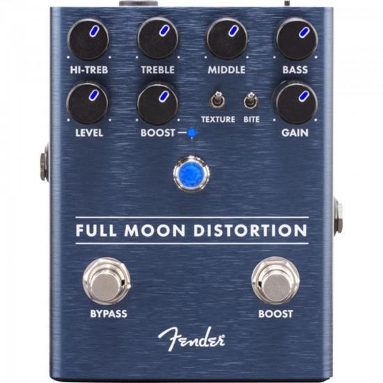 Pedal para Guitarra Full Moon Distortion FENDER (68034)