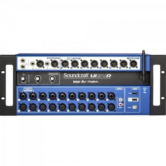 Mesa de Som Digital Ui24R Preta SOUNDCRAFT (68086)