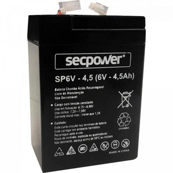 Bateria Selada 6V/4.5A SECPOWER (68310)