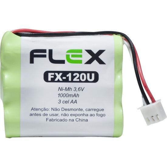 Bateria P/ Telefone sem Fio 3,6 AA 1000MAH FLEX (68643)
