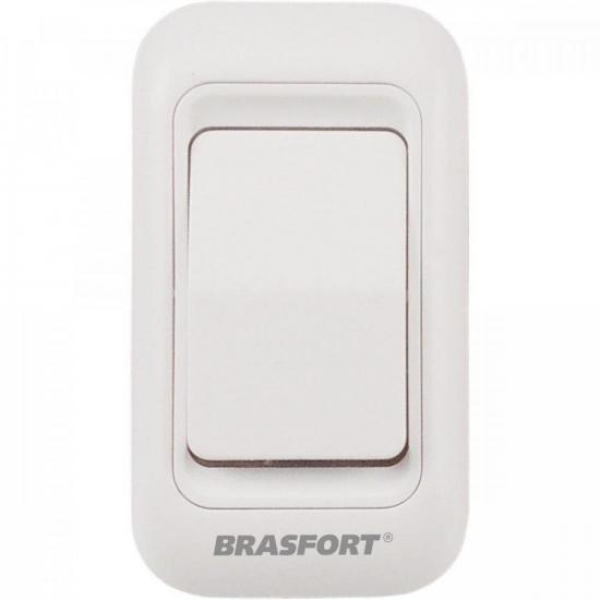 Botão Sem Fio para Campainha 7890/91 BRASFORT (68690)
