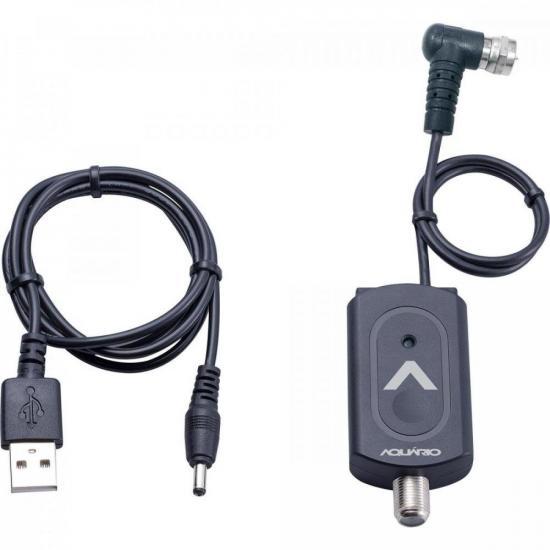 Mini Amplificador de Linha Sinal Digital 26DB BT26 AQUÁRIO (68898)