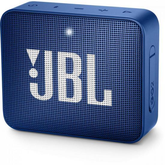 Caixa Multimídia Portátil Bluetooth GO 2 Azul JBL (69833)