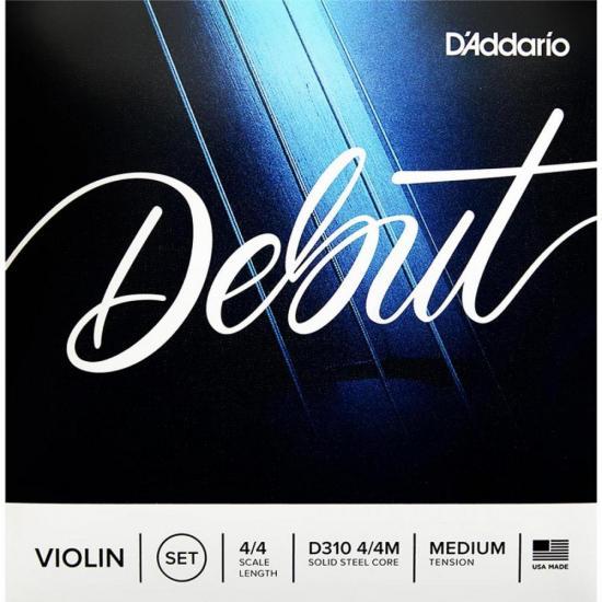 Encordoamento para Violino 4/4M Debut D'ADDARIO (69955)