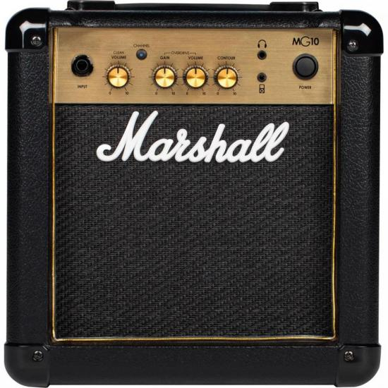 Amplificador Combo para Guitarra 10W MG10G Gold MARSHALL (70109)