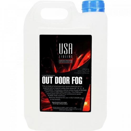 Carga De Fumaça 5 Litros Out Door Fog Profissional USA (71125)