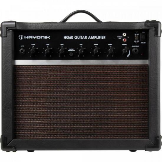 Cubo Para Guitarra 60W HG60 Preto HAYONIK (71470)