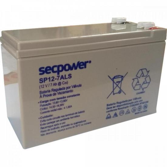 Bateria de Chumbo Ácida VRLA SP12-7ALS SECPOWER (71731)