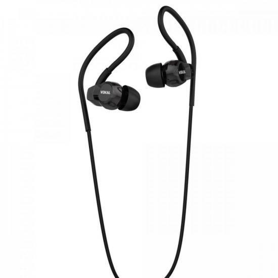 Fone de Ouvido E40 In Ear Preto VOKAL (72076)