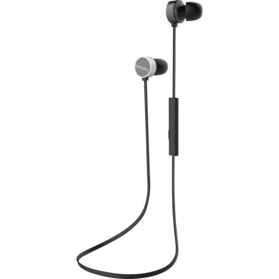 Fone de Ouvido Bluetooth TAUN102BK/00 Preto PHILIPS (72255)