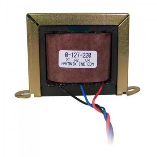 Transformador 24+24VAC 127/220VAC 500mA 24/2 HAYONIK (8097)